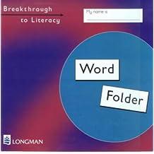 Breakthrough to Literacy: Pupil's Word Folder