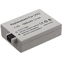 MTEC Batterie pour Canon EOS-450D / EOS-500D / EOS-1000D - LP-E5 - 10
