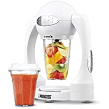 Princess 212062 - Batidora para smoothies, capacidad de 0.6 l, color blanco