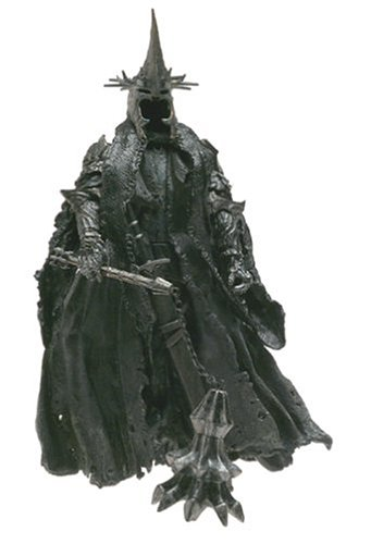 Toy Biz 81301 - Herr der Ringe The Return of the King Triologie Morgul Lord With-King with Mace-Wielding (Witch King Ringe Der Herr)
