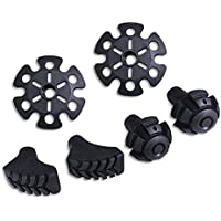 TheFitLife Nordic Walking Rubber Tips - A Full Set Replacement Caps End