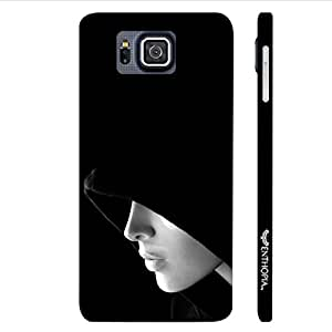 Samsung Alpha G850F SHADOW IN THE HOOD designer mobile hard shell case by Enthopia