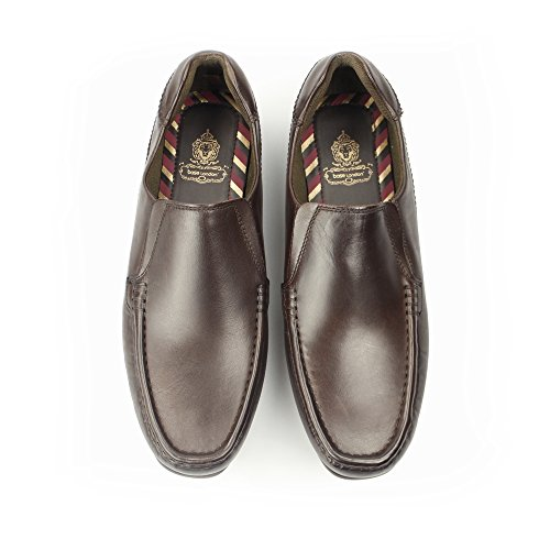 Base London , Mocassins pour homme marron marron Marron