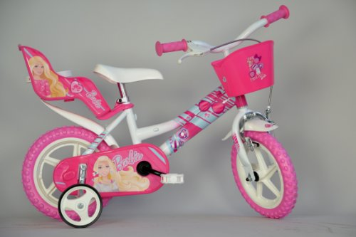 Dino Bikes 126 RL-BA - Barbie Bicicletta, 12 Pollici