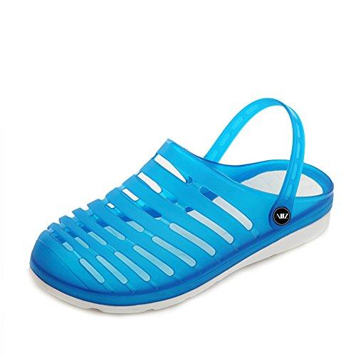Sommer Schuhe Herren koreanischen Loch/Beach-Schuhe für Herren/dann Auftragnehmer Gelee Schuhe/Rutschfeste Hausschuhe A