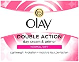 Olay Double Action Moisturiser Day Cream and Primer, 50ml