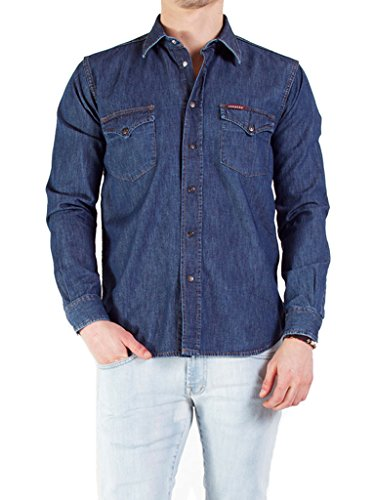 Carrera jeans - camicia jeans per uomo it xl