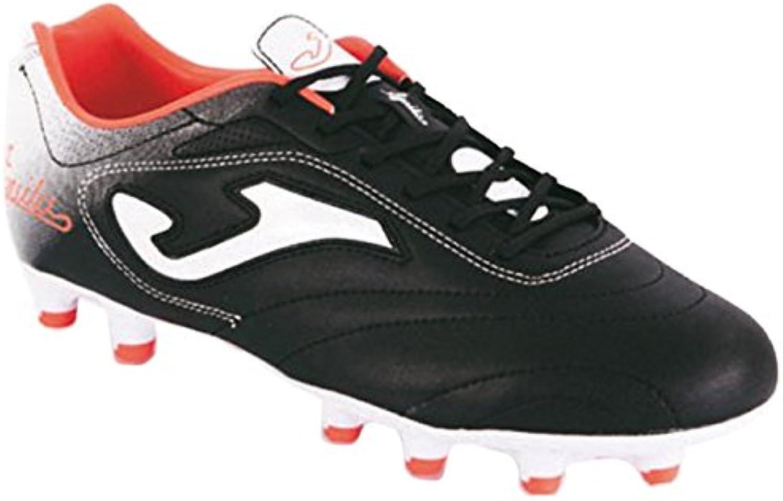 Joma Aguila - Botas de fútbol para hombre, color negro/rojo, talla 43.5