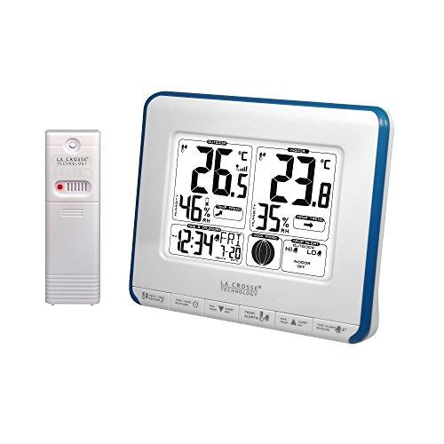 La Crosse Technology WS6812WHI-BLU - Estación meteorológica