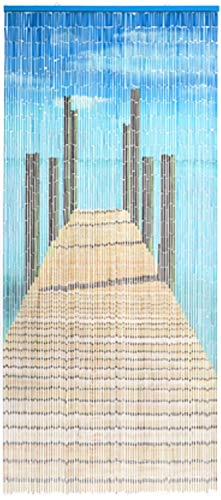 Türvorhang Bambus Vorhang Bridge Bambusvorhang Raumteiler Fliegenvorhang Dekovorhang