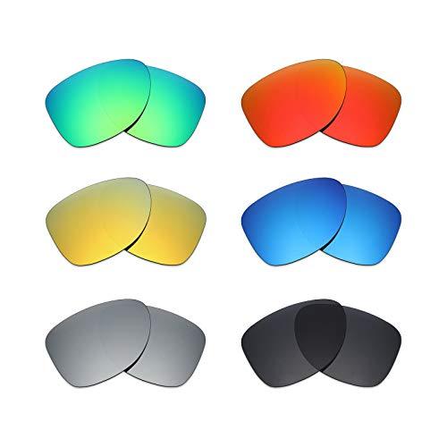 MRY 6Paar Polarisierte Ersatz Gläser für Oakley Dispatch 2Sonnenbrille