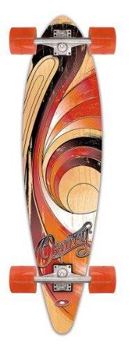"Osprey Pintail Longboard, solar flare, 41"", TY4001A"