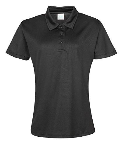 Girlie Cool Polo-Shirt Jet Black