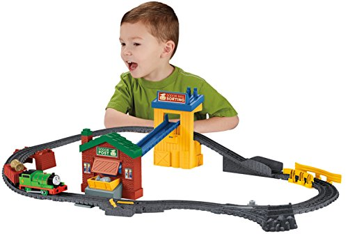 Fisher-Price - Thomas & seine Freunde - TrackMaster - Stell- & Verladewerk [UK Import] (Us Post Office)
