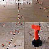 GCCLCF Pavimentazione Muro di livellamento Sistema livellatore plastica Clip Locator distanziatori Pinza 50pcs/Set