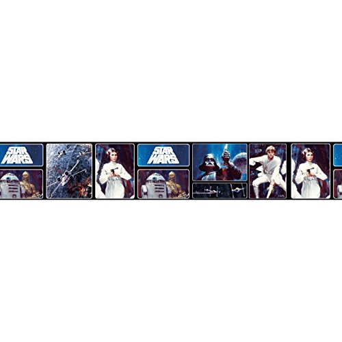 Star Wars Retro Self Adhesive Wallpaper Border 5m Buy Online In Botswana At Desertcart