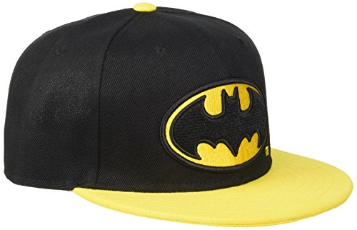 Batman Logo Gorra Snapback negro/amarillo