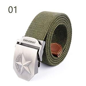 CHOUBAGUAI Gürtel Unisex Blank Automatic Buckle Tactical Belt Militärgürtel Für Herren & Damen Patriot Jeans Gürtel
