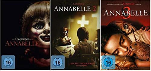Annabelle 1-3 (Teil 1+2+3, 1 bis 3) [DVD Set]