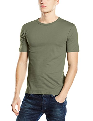 Stedman Apparel Herren T-Shirt Morgan (Crew Neck)/st9020 Premium Grün - Military Green
