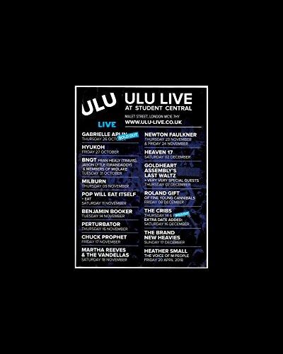Stick It On Your Wall Gabrielle Aplin die Krippen Newton Faulkner-Ulu Banjolele Live at Student Central Mini-Poster-25.4x 20.3cm