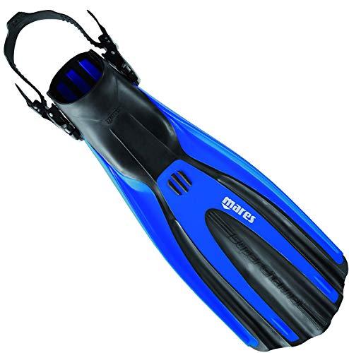Mares Avanti Superchannel OH - Aletas Unisex, Color Azul, Talla S