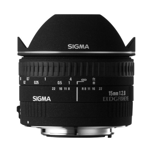 Sigma Objectif Fisheye 15 mm F2,8 EX DG Diagonal - Monture pour Canon