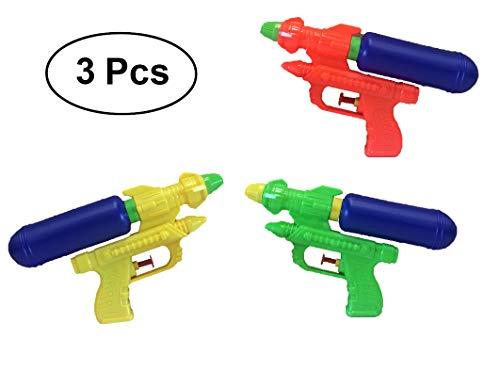 C+P Set 3 Water Pistols Water Guns 20 cm with Tank Set 3 Wasserpistolen Spielzeug Wasserpistolen 20 cm mit Tank
