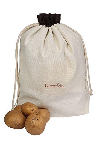 Slowroom Verduras Bolsas de algodón, para Patatas, práctico y Atractivo Conservar, Protege contra...