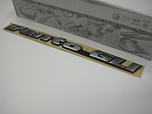 Volkswagen Original VW Vento GLI Rear Trunk Boot Badge Emblem Nos - 1H5853687ADZ10 Vw Gli-emblem