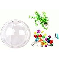 Pecera de tazon - SODIAL(R)Pecera de tazon de montaje de burbuja colgante