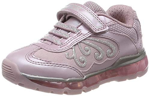 Geox Mädchen J Android Girl A Sneaker, Pink/Silver C0514, 27 EU