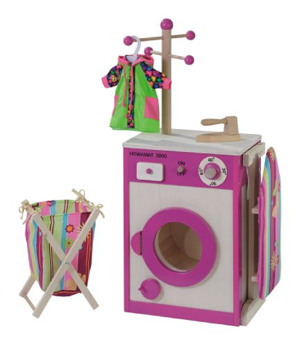 Howa - Lavanderia / Lavatrice giocattolo in legno 4814