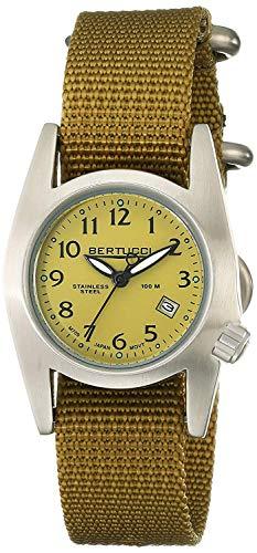 Bertucci 13423 Womens M-1S orologio dorato della fascia dorata della fascia