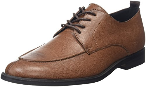 New LookEugene French - Stivali uomo , Marrone (Brown (18/Tan)), 44.5