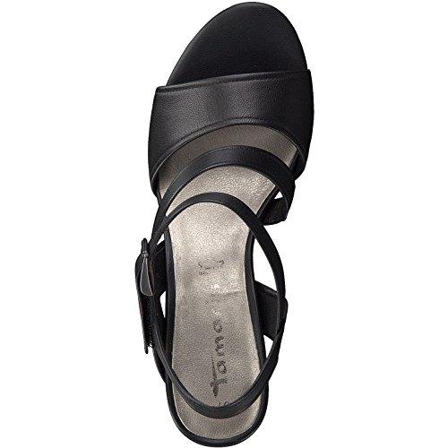 Tamaris  1-1-28606-38/001, Sandales pour femme Noir