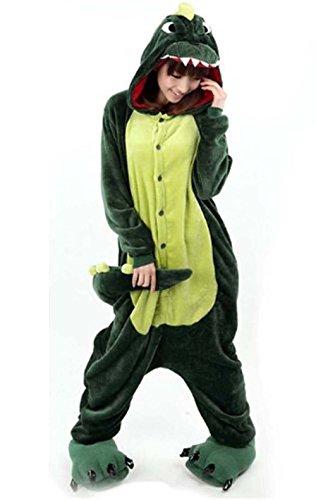 Unisex Adult Kigurumi Tier Cosplay Neuheit Homewear Onesies Nachtwäsche erwachsene Karikatur Karneval Weihnachten Halloween-Kostüm (Awesome Halloween-kostüme Mädchen)