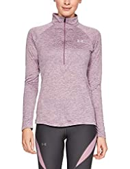 Under Armour Women's Tech 1/2 Zip - Twist Warm-up Top