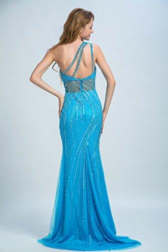 Bridal_Mall - Robe de mariage - Colonne - Femme Bleu