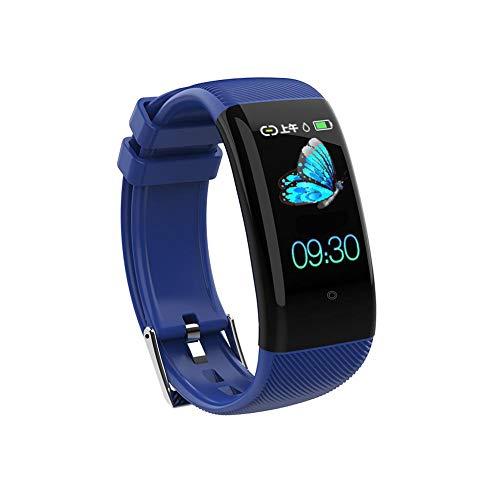 Fitness Tracker HR, Activity Tracker Uhr mit Herzfrequenzmesser, wasserdichtes Smart Fitness Band mit Schrittzähler, Kalorienzähler, Schrittzähleruhr für Kinder, Frauen und Männer