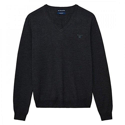 GANT T-Shirt Schwarz Und Grau