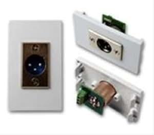 Vision TC2 XLRM XLR White wire connector - wire connectors (White)