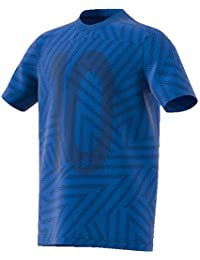 adidas Messi Icon Jersey (Short Sleeve), Niños, Blue, ...
