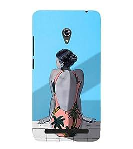 EPICCASE loneliness Mobile Back Case Cover For Asus Zenfone 6 (Designer Case)