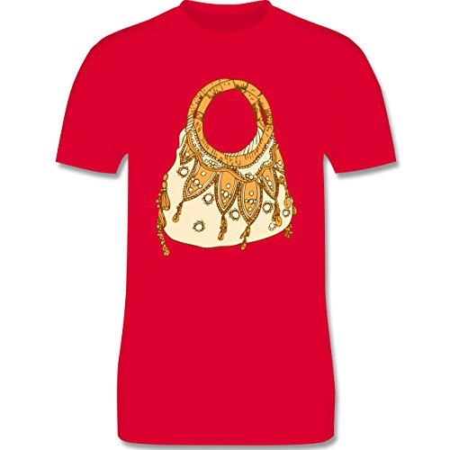 Symbole - Handtasche - Herren Premium T-Shirt Rot
