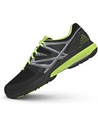 adidas Stabil4Ever - Zapatillas de squash y bádminton de Piel y Sintético para hombre