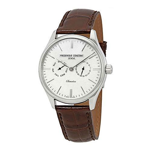 Frederique Constant Men's Classics 39mm Steel Case Quartz Watch FC-259BRST5B6