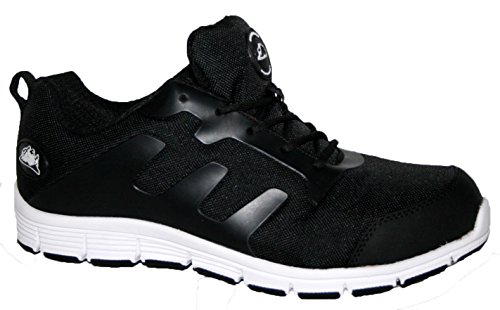 Groundwork Gr95, Chaussures de Sécurité Mixte Adulte Blanc - Noir/blanc