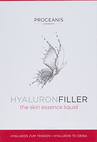 PROCEANIS Hyaluronfiller - ganzheitliche Frischekur für die Zellen mit Hyaluronsäure in optimaler Form für eine natürlich Aufnahme über die Nahrung, 50 Tage Anwendung