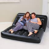 Kongqiabona aufblasbares Doppeltes Sofa-Luftpolster-faltendes Bett-Couch-Explosions-Matratze Faule Recliner-Sofa-Bequeme Liege mit Pumpe